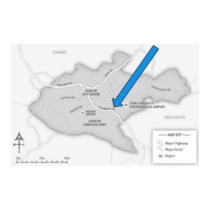 IXAfrica Kenya Campus map